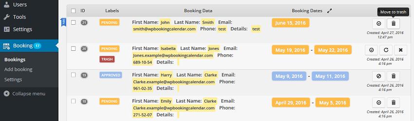 Whats New On Calendar >> What S New Booking Calendar Wordpress Plugin