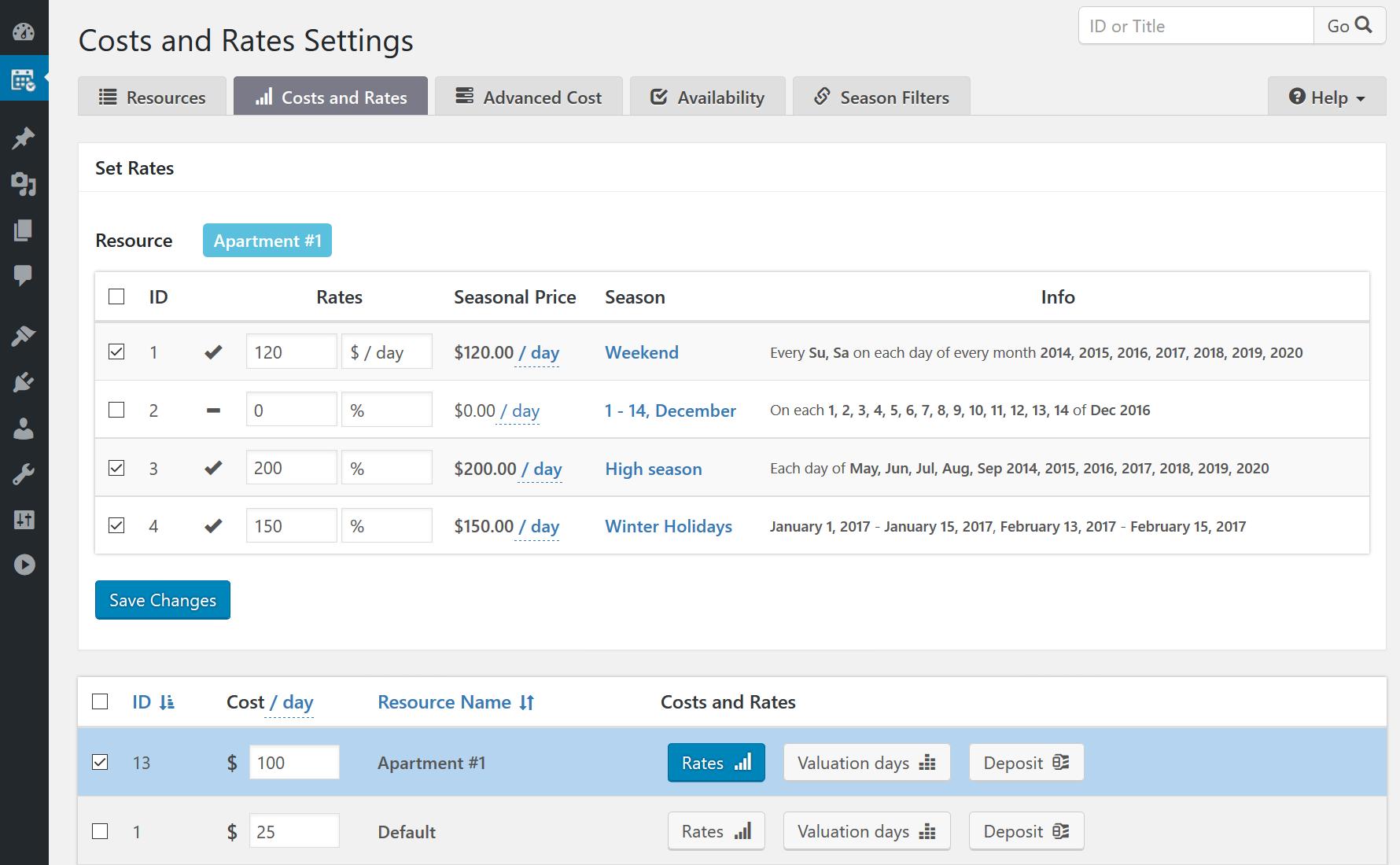 Overview | Booking Calendar - WordPress plugin