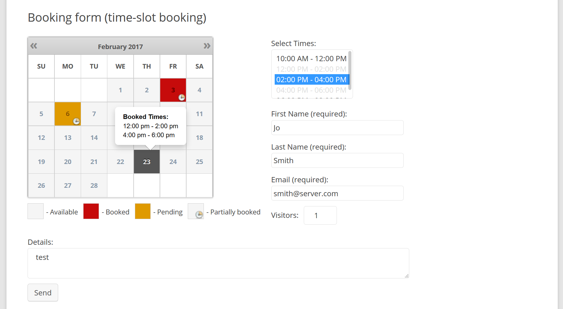 booking-calendar-time-slots-booking