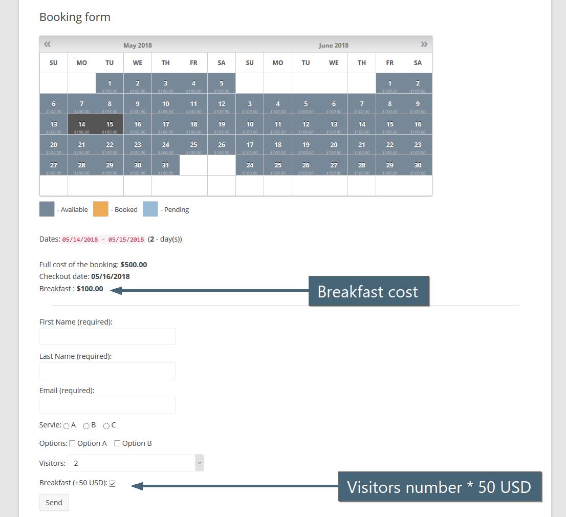 Faq booking calendar wordpress plugin falaconquin