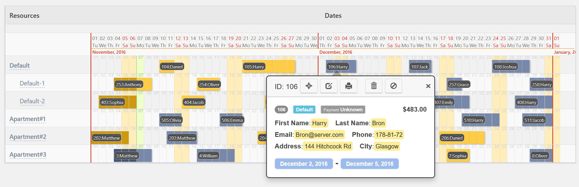 Calendar Booking : Booking calendar wordpress plugin for online bookings